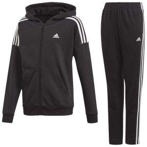 Adidas Ensembles de survêtement JB COTTON TS Noir - Taille 4 / 5 ans,11 / 12 ans,7 / 8 ans