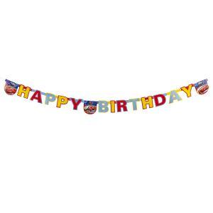 """Guirlande Cars 2 """"Happy Birthday"""""""