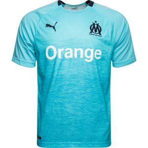 Puma T-shirt enfant Maillot Om Third 2018-19 bleu - Taille 12 ans,14 ans