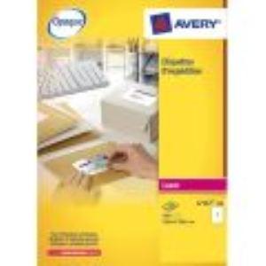 Avery-Zweckform L7165-100 - Boîte de 800 étiquettes-adresses laser opaque (6,77 x 9,91 cm)