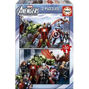 Educa Puzzles Avengers 2x100 pièces