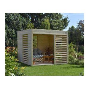 Baltic Arty - Abri de jardin en bois massif 6.5m² 19 mm