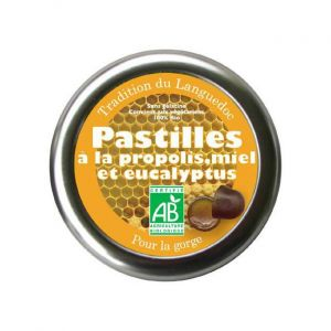 Aromandise Pastilles à La Propolis, Miel et Eucalyptus 50g