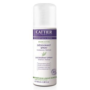 Cattier Brume active déodorant spray femme - 100ml