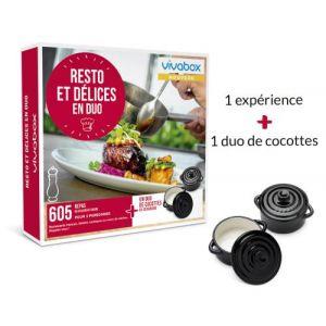 Vivabox Resto et délices en duo - Coffret cadeau