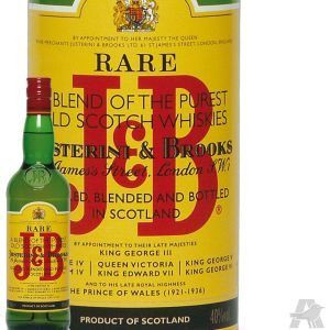 J&B Whisky Ecosse Blended 40% vol. 1 L