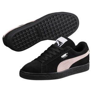 Puma Suede Classic Wn's, Sneakers Basses Femme, Noir Black-Pearl, 41 EU