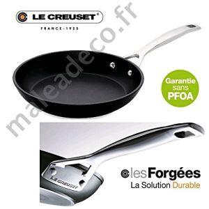 Le Creuset Poêle Les Forgées en aluminium anti-adhérente (28 cm)