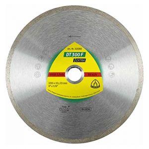 Klingspor Disque diamant EXTRA DT 300 F D. 125 x 1,6 x Ht. 7 x 22,23 mm - Carrelage / Faïence - 325358