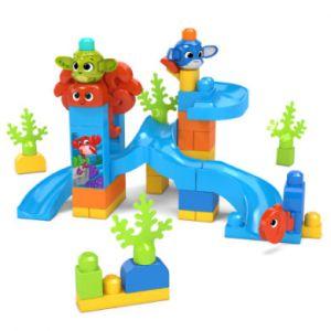 Mega Bloks First Builders Coucou Blocs coffret Aventures sous-marine, jeu de construction, 50 pièces, jouet pour enfant et bébé dès 1 an, GNW64