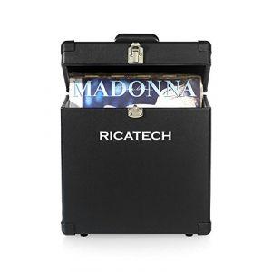 Ricatech RC0042 Coffre pour disque-Noir