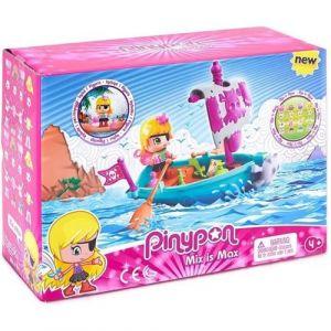 Famosa Playset Pinypon Le Bateau Pirate avec une figurine