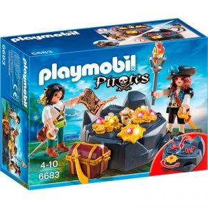 Playmobil 6683 Pirates - Pirates et trésor royal