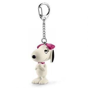 Schleich 22038 - Porte-clés Snoopy Belle ravie