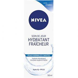 Image de Nivea Soin de jour hydratant fraîcheur pour peaux normales à mixtes