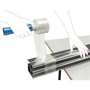 Bobinettes manuels standard transparent 150 m 23µ boîte de 44