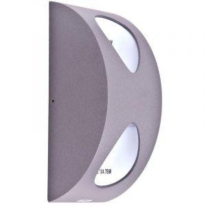 Eglo Une applique en aluminium à LED pour votre espace extérieur