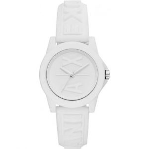Armani Exchange Montre AX4366 - Lady Banks Silicone Blanc Femme