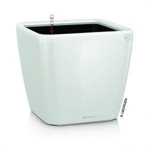 Lechuza Pot à réserve d'eau Quadro Blanc L.35x35 x H.33 cm