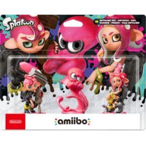 Nintendo Figurine Amiibo Amiibo Splatoon Fille + Garcon + Poulpe