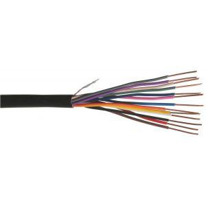 Paige irrigation Touret câble 13 conducteurs pour télécommande d'électrovannes très basse tension - 75m