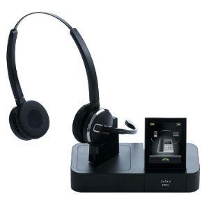 Jabra PRO 9460 Duo - Casque téléphonique sans fil avec microphone
