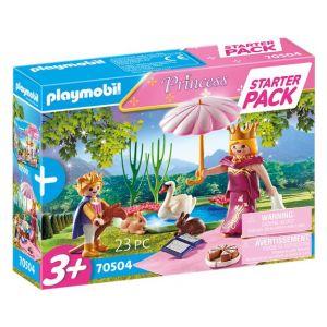 Playmobil Starter pack reine et enfant Princess 70504