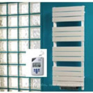 Lvi 3890033 - Sèche-serviettes Apaneo IR T avec thermostat infrarouge et soufflant 1000 + 1000 Watts