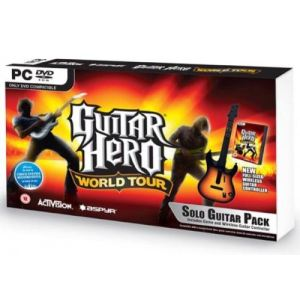 Guitar Hero : World Tour - Kit jeu + guitare [PC]