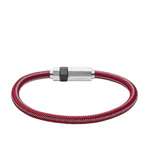 Diesel Bracelet en Acier Rouge