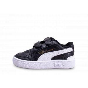 Puma Chaussure Basket Ralph Sampson Lo pour bébé, Noir/Blanc, Taille 23