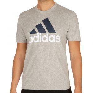 Adidas Essentials T-Shirt Homme, Medium Grey Heather, FR : XL (Taille Fabricant : XL)