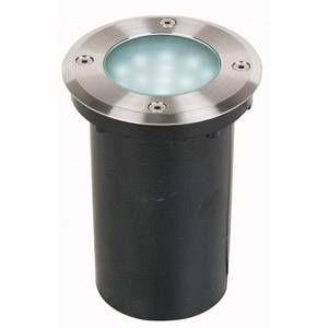 Lutec Spot LED encastrable pour extérieur ECO-Light Lampe LED design à encastrer Berlin 3 W acier inoxydable