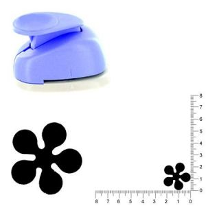 Artémio Moyenne perforatrice - Fleur - 2.3 cm