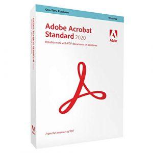 Acrobat Standard 2020 - 1 utilisateur - Version boîte [Windows]