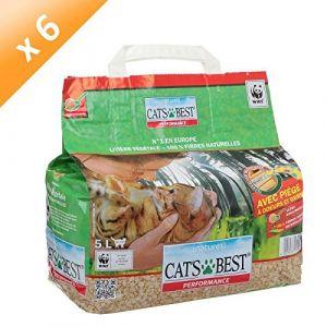 Cat's Best Litière agglomérante végétale - Le sac de 5 litres