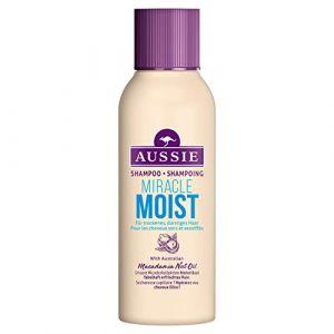 Aussie Miracle Moist Shampoing pour Cheveux Secs - 90 ml