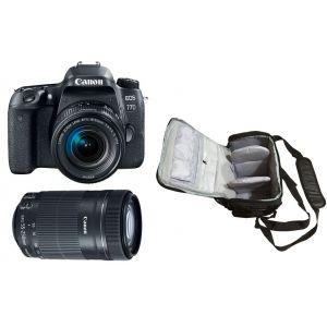 Canon EOS 77D (avec 2 objectifs 18-55mm et 55-250mm)