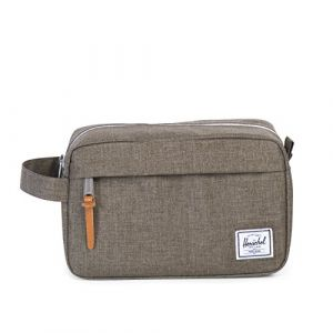 Herschel Trousse de toilette Chapter Canteen Crosshatch vert