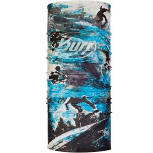 Buff Coolnet UV+ - Foulard Enfant - gris/bleu Serviettes multifonctions