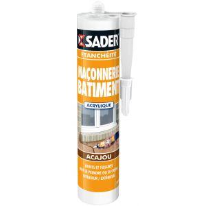 Sader Mastic maçonnerie acajou 310ml