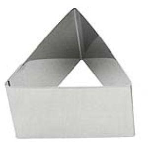 Lares 6048 - Emporte-pièce triangle en inox