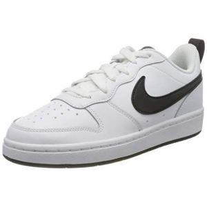 Nike Court Borought Baskets Garçon Blanc