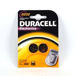 Duracell CR2032 - Blister de 2 pile lithium 3V