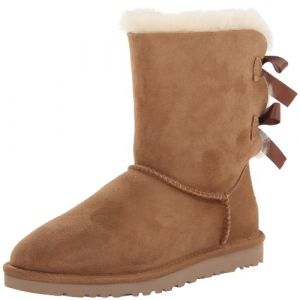 UGG australia Boots UGG Bailey Bow velours Femme Chestnut Multicolor - Taille 36,41