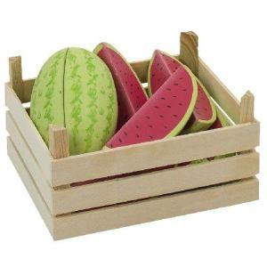 Goki 51673 - Melons dans une cagette