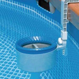 Intex Skimmer de surface pour piscine hors-sol pour bords ronds