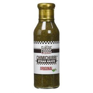 Classic Foods of America Chimichurri steak sauce original