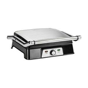 Ultratec CG2000 - Gril de contact 2 en 1 avec fonction barbecue 2000 W