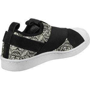 Adidas Superstar Slip On W Slipper chaussures noir blanc noir blanc 40 EU